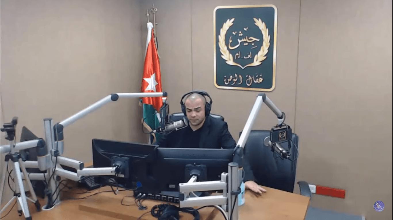 د. أديب الزعبي، إذاعة جيش FM-إف إم 21-3-2020