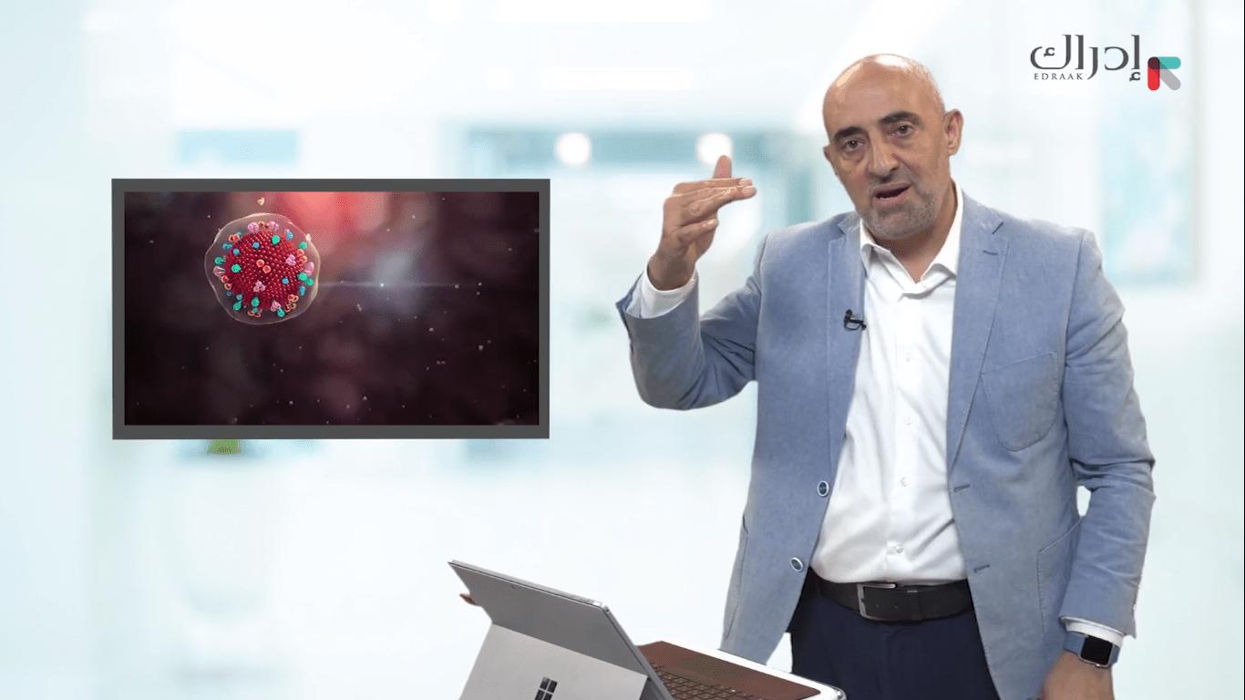 كيف يستقبل جسم الإنسان فيروس كورونا؟ | د. أديب الزعبي