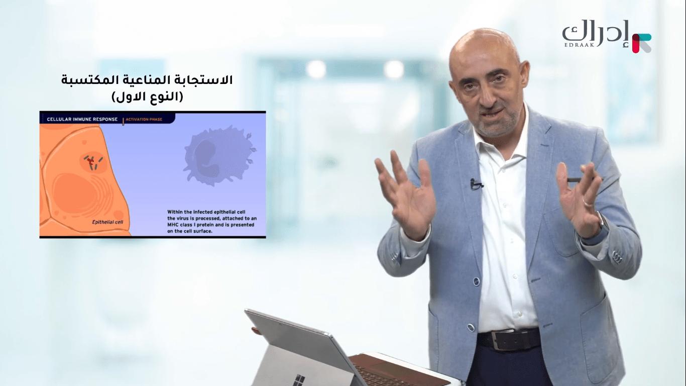 الإستجابة المناعية المكتسبة | د.اديب الزعبي - منصة ادراك
