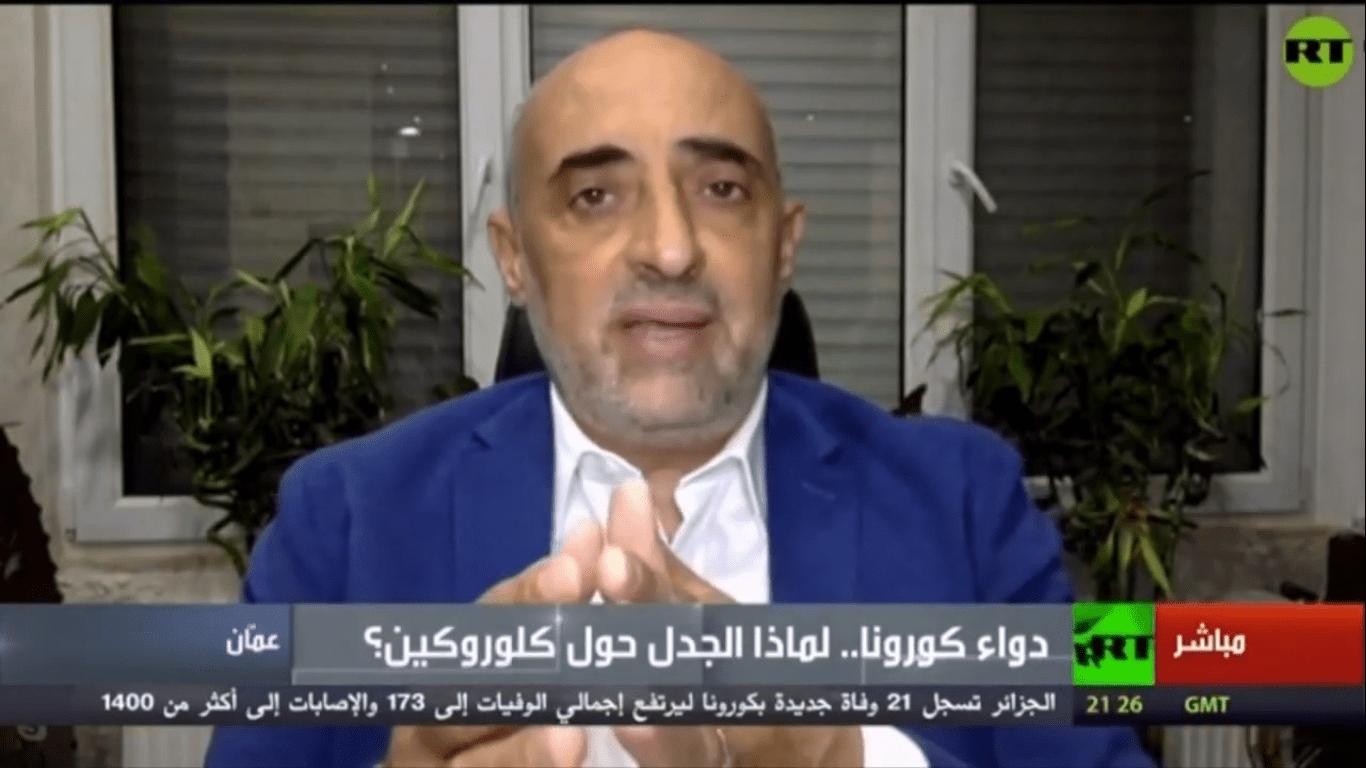 د. اديب الزعبي - قناة روسيا اليوم RT Arabic