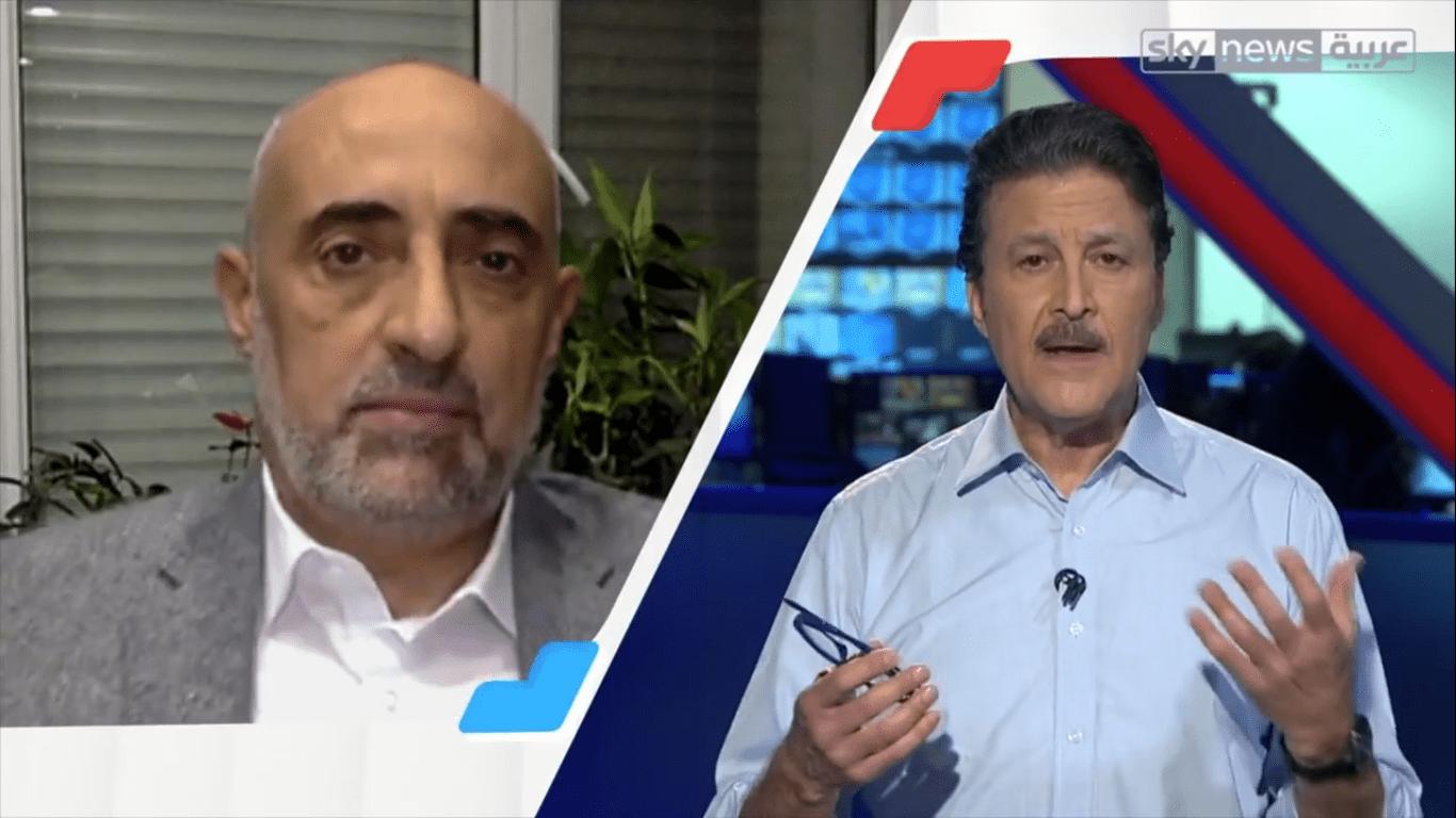 د. أديب الزعبي ، قناة سكاي نيوز عربية